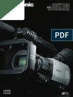 Panasonic Dvx100b Pal