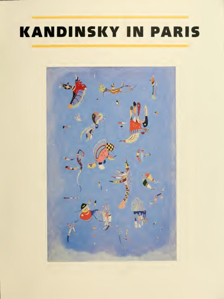 kandinsky in paris by kandinsky | Wassily Kandinsky ...