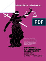 Programma La violenza illustrata 2013