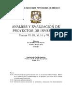Plan de Negocios Evaluacion de Proyectos 040411