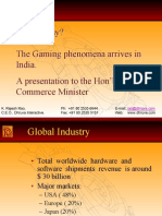 Wanna Play? the Gaming Phenomena Arrives in India. a Presentation