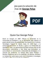 Estrategias para la solución de problemas de George Polya
