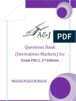 A&J Questions Bank (Derivatives Markets) for SOA Exam FM/ CAS Exam 2