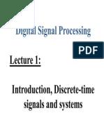 Digital Signal Processing Basic review