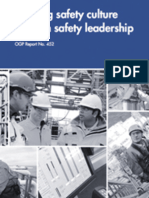 Shaping safety culture through safety leadership