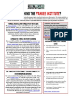 CT - Who is Behind the Yankee Institute