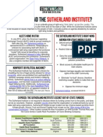 UT - Who Is Behind The Sutherland Institute