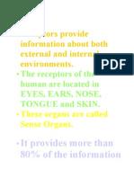 10-Sense Organs