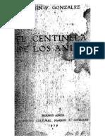 González, Joaquìn V. El Centinela de los Andes