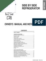 Samsung RS21JG Fridge-Freezer Manual