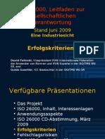 ISO 26000 (5) Erfolgskiterien 2009-06
