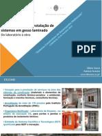 Apresentação do Manual Técnico de Instalação de Sistemas em Gesso Laminado
