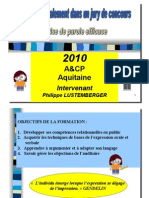 Jury Communication (Www.a Cp.fr, Prise de Parole Jury Archi p.lustnov10)