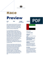 Formula One Abu Dhabi Grand Prix preview