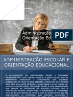 Pós-graduação em Administração Escolar e Orientação Educacional - Grupo Educa+ EAD