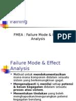 Training FMEA