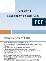 HTML Chapter 3-Css