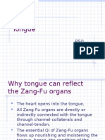 Why Tongue Can Reflect the Zang-Fu Organs