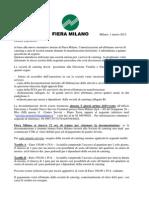 Fiera Milano Come Presentare La Domanda