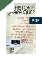 Enrique Florescano -De la memoria del poder a la historia como explicación