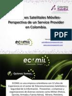 Soluciones Satelitales Moviles -ECOMIL