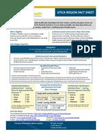NY State of Health- Utica Fact Sheet