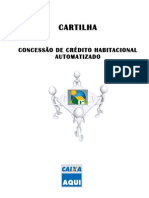 Cartilha Concessão Habitacional Automatizado