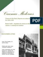 Cinemas Modernos