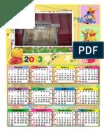 calendário 2013 POH