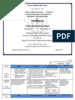 Formato planificación Febrero - Julio 2013 2°B