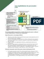 Principais Rec Arquit Proc AMD Athlon