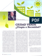 Ciudad Verde - Utopia o Necesidad