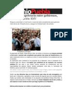 17-07-2013 Sexenio de Puebla - No hay competencia entre gobiernos, sino cooperación, RMV