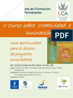 V Curso Creatividad e Innovacion_A