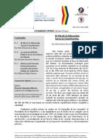 Boletín Communis Opinio - Año 1, No. 3, Enero 2009.