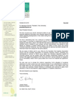 New Letter from OCLA to York University President Mamdouh Shoukri