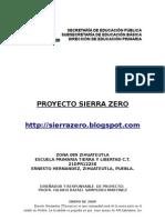 Proyecto Sierra Zero
