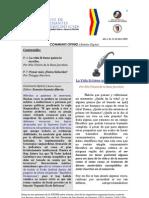 Boletín Communis Opinio - Año 1, No. 13, Abril 2009.
