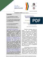 Boletín Communis Opinio - Año 1, No. 14, Abril 2009.
