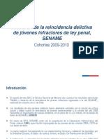SENAME Medición de la reincidencia delictiva juvenil 2009-2010
