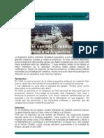 Avance de los desiertos y aumento Del Nivel Del Mar en Argentina