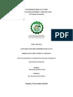 Informe de Aguas Residuales