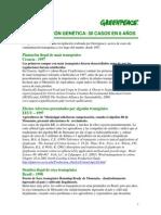 Contaminaci n Genetica 50 Casos