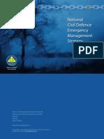 National CDEM Strategy 2008
