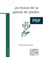Fernando Corona - Los trenos de la iglesia de piedra