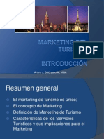 Marketing del Turismo - Introducción