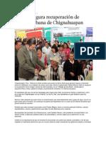 19-07-2013 Puebla on Line - RMV inaugura recuperación de imagen urbana de Chignahuapan