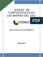 Niveles de Cortocircuito e Impedancias Equivalentes en Las Barras Del Sni Mayo 2013