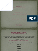 Comunicacion Para La Comprension.
