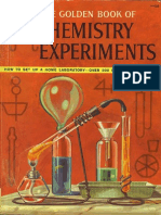 The Golden Book of Chemistry Experiments -Robert Brent